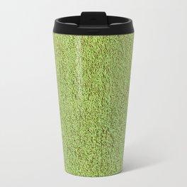 Retro Green Shag Pile Carpet Travel Mug