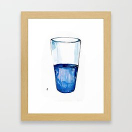 Half.  Framed Art Print