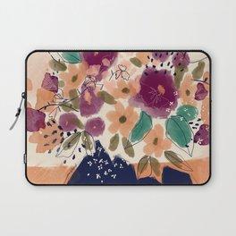 Autumn Folk Florals  Laptop Sleeve