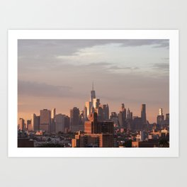 Mighty Manhattan Art Print
