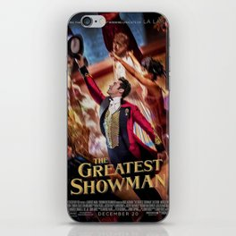 The Greatest Show Magic iPhone Skin