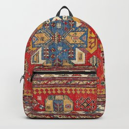 Daghestan Sumakh Northeast Caucasus Rug Print Backpack