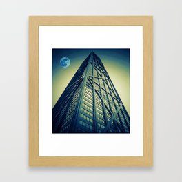 John Hancock Building in Chicago Framed Art Print