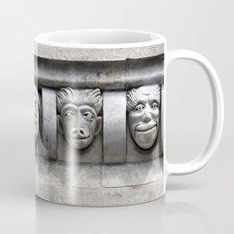 Stone-faced gargoyles. Coffee Mug
