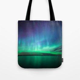 Beautiful northern lights Tote Bag