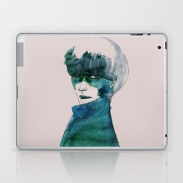 Blue-Green Skin Laptop & iPad Skin