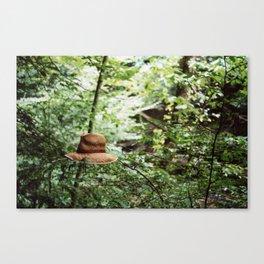 Lost Hat Canvas Print