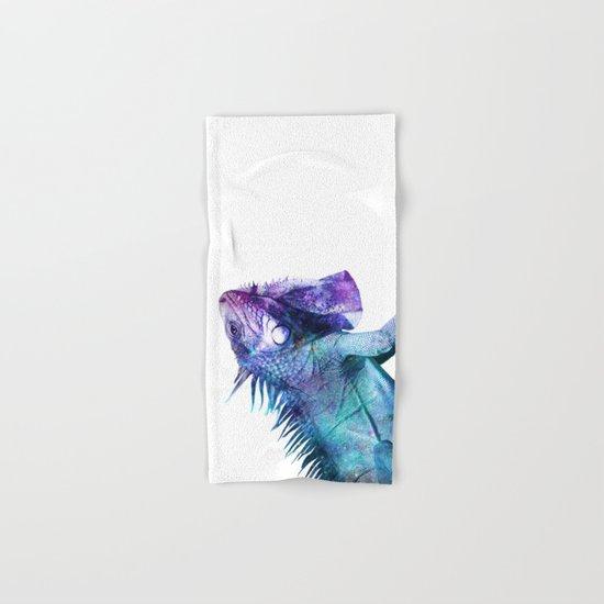 Galactic Iguana Hand & Bath Towel