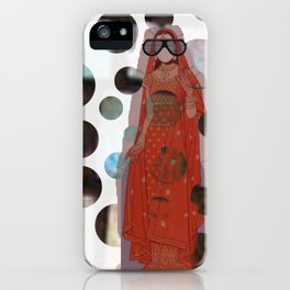 Indian Bride Twist iPhone Case