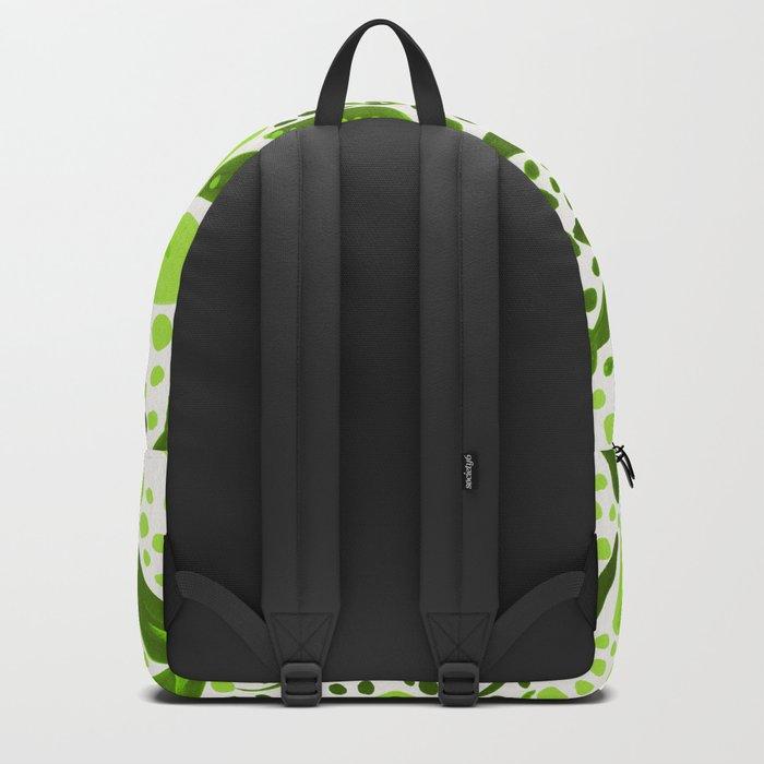 Garden – Lime Green Palette Backpack