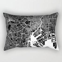 Tokyo - Minimalist City Map Rectangular Pillow