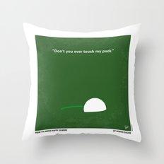 No256 My Happy Gilmore minimal movie poster Throw Pillow