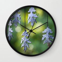 Autumn Wind Chimes Wall Clock