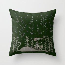 Cretan Griffin Throw Pillow