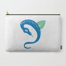 The Blue Snake Carry-All Pouch