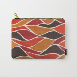 Waves in warm tones  Carry-All Pouch