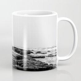 Cape Vidal in B&W Coffee Mug