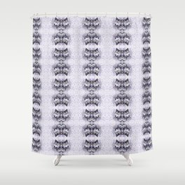 Lilac Wolf Shower Curtain