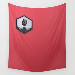 Rebel Alliance Charcoal Badge Wall Tapestry