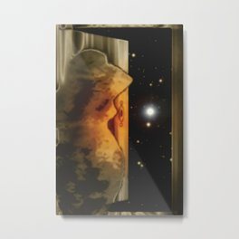 Exit to the stars. Metal Print