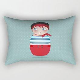 KOKESHI-PARISIAN Rectangular Pillow