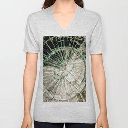 Web of Glass Unisex V-Neck