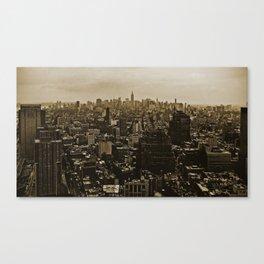 New York Skyline 3 Canvas Print