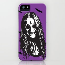 OZZY: Purple Sabbath iPhone Case