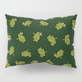 Frog Prince Pattern Pillow Sham