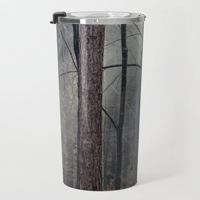 Magical winter light Travel Mug
