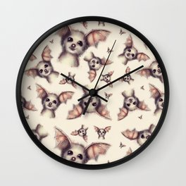 What the Fox - Pattern Wall Clock