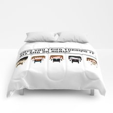 The IT Crowd Characters Comforters