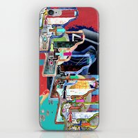 tv iPhone & iPod Skins featuring TV by Jerry Shirts