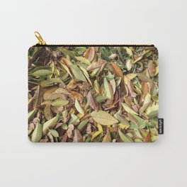 Winter Leafs Carry-All Pouch