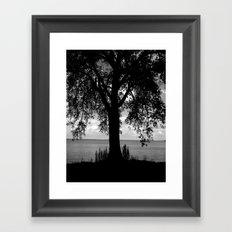Where I Stand Framed Art Print