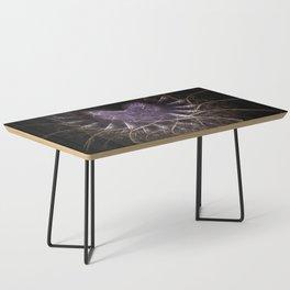 Purple Love Web Fractals Coffee Table