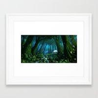 mononoke Framed Art Prints featuring Mononoke by Roberto Nieto