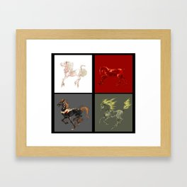The Big Four Framed Art Print