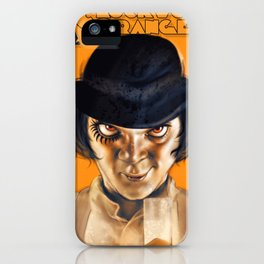 Alex DeLarge iPhone Case