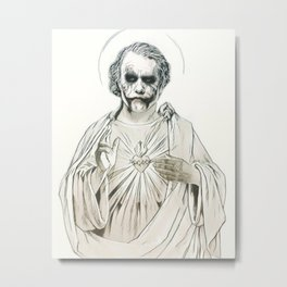 Agent Of Chaos. Metal Print