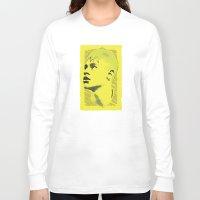 neymar Long Sleeve T-shirts featuring World Cup Edition - Neymar / Brazil by Milan Vuckovic