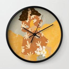I Stole the Moon Wall Clock