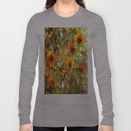 Coreopsis Sunburst Long Sleeve T-shirt