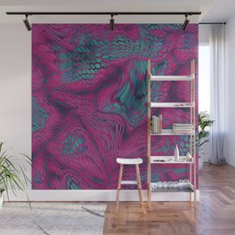 Asia Dragon Scales Wall Mural