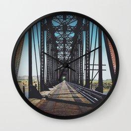 Badlands Bridge Wall Clock
