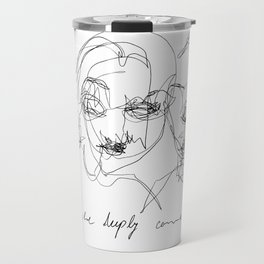 They were deeply connected Travel Mug