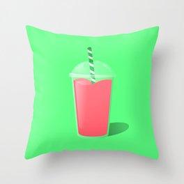 Smoothie Throw Pillow