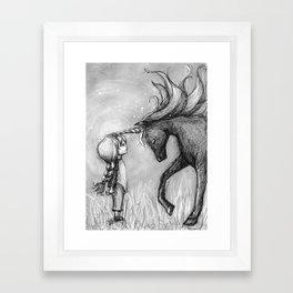 Enchantment of the Unicorn Framed Art Print