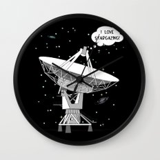 I love stargazing! Wall Clock