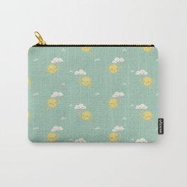 Little Sun green Carry-All Pouch